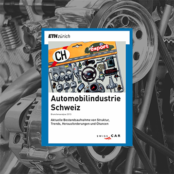 "Partner of the University of Zurich for the ""Automobilindustrie Schweiz"" in 2018"