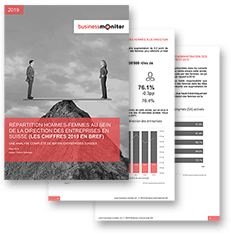Swiss company leadership and the gender divide 2019